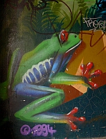 """Le Frog"" - Graffitty"